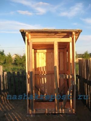 Построка дачного туалета