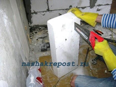 Как перенести стену в квартире своими руками