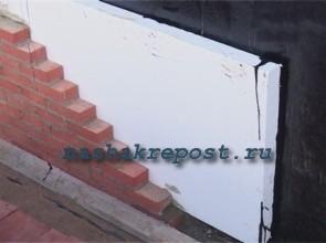 Утепление дома пенопластом своими руками | Утепление стен снаружи пенополистиролом