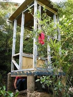 постройка торфяного туалета