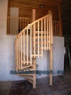 Деревянные лестницы— самостоятельное строительство