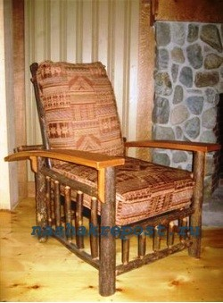 Кресло для дачи своими руками.