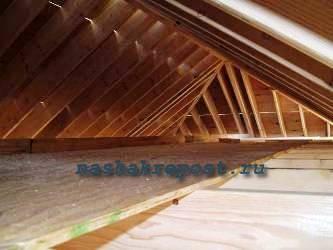 Конструкция вальмовой крыши.