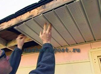 Софиты для крыши фото