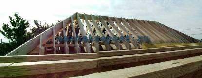 Вальмовая крыша своими руками-разметка, расчет