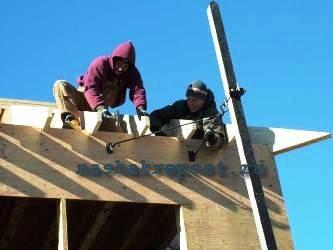 как правильно рассчитать сколько нужно материала на вальмовую крышу...