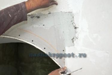 армирующая лента для гипсокартона