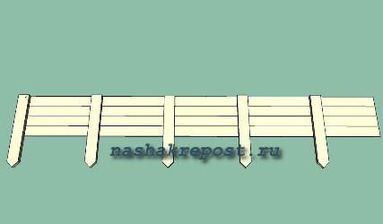 Деревянный щит для опалубки