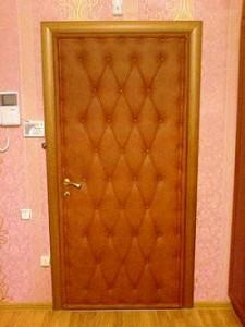 Обивка для дверей своими руками