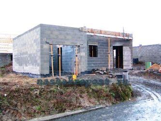 Строительство гаража из блоков