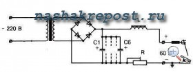 Электрическая схема самодельного сварочного аппарата