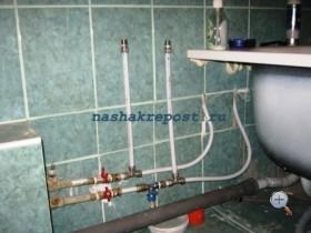 Установка металлопластиковых труб своими руками фото