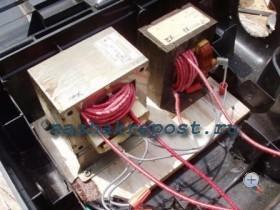 Подключение трансформаторов самодельного сварочного аппарата