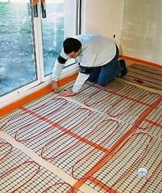 Устанавливаем теплые полы под ламинат: выбор материалов, этапы работы