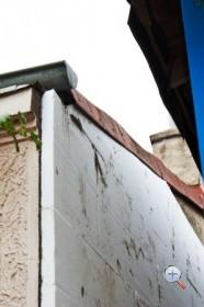 Установка пенополистирола на бетонную стену
