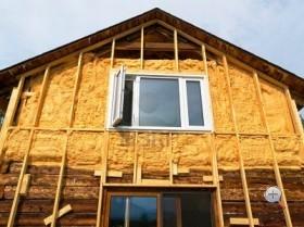 утепление деревянный дома из бруса снаружи