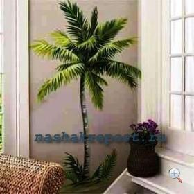 рисунок дерева на стене