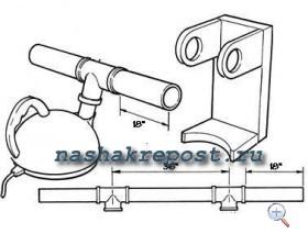 схема подсоединения парогенератора