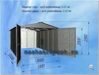 Этапы самостоятельной сборки металлического гаража