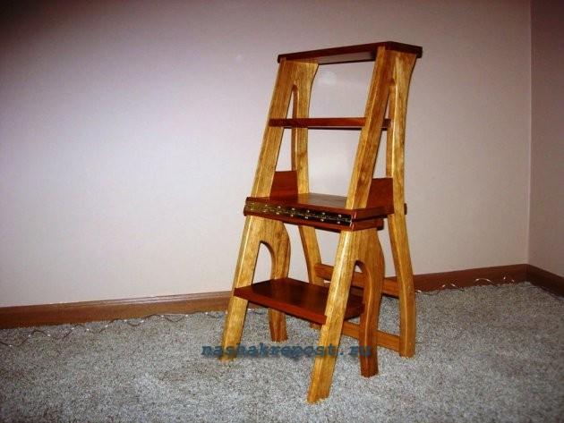 Сделай сам табурет лестница