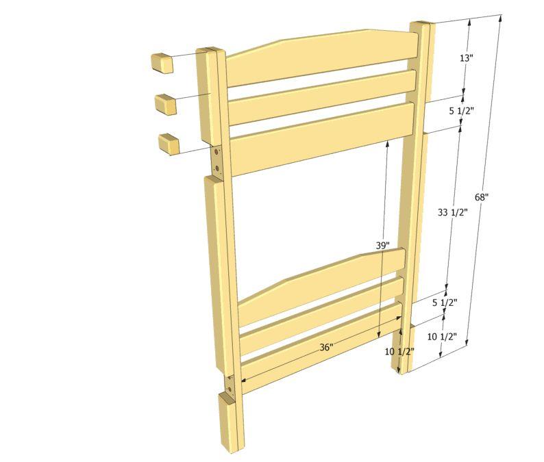 Как сделать двухъярусную кровать своими руками из картона