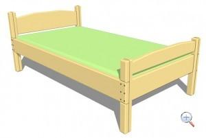 Изготовление деревянной кровати своими руками | чертежи
