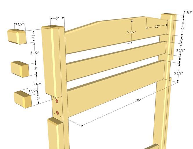 Изготовление деревянной кровати своими руками | кровать из ...