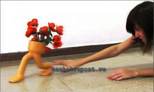 Цветочные горшки из подручных материалов своими руками