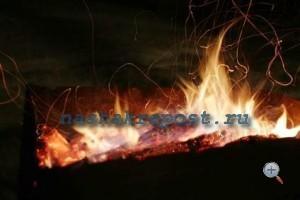 Огонь для закалки стали