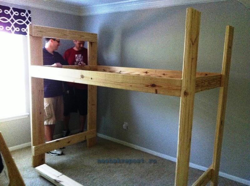 Двухъярусная кровать своими руками пошаговая инструкция