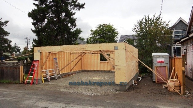 Строим гаража своими руками