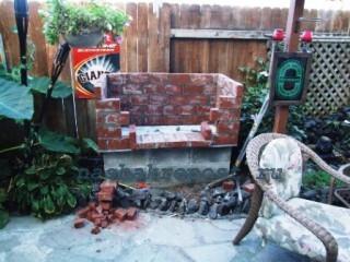 Строительство уличной печи— материалы, этапы постройки