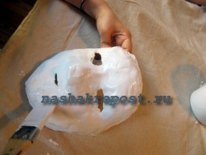 гипсовая маска