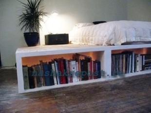 как сделать кровать подиум