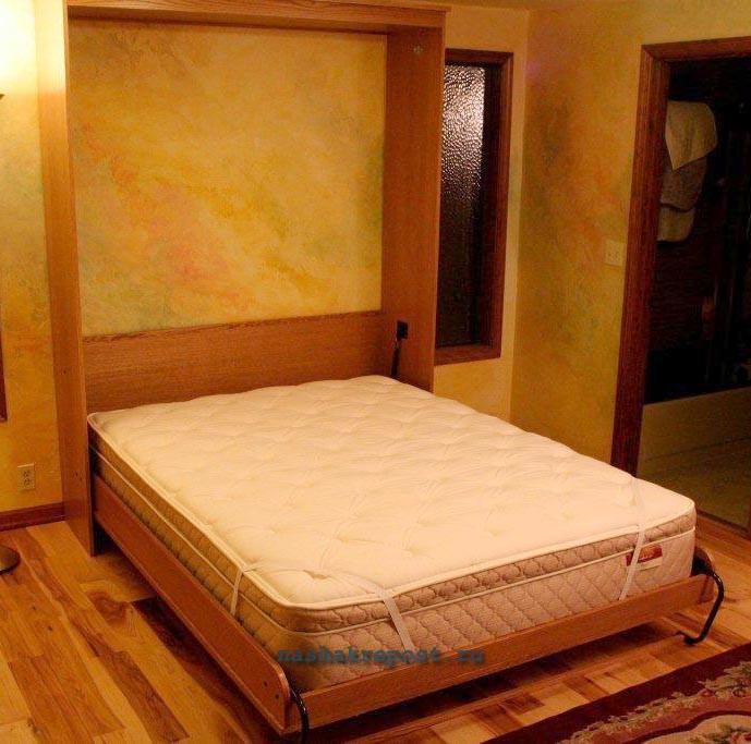 Кровать трансформер вертикальная своими руками