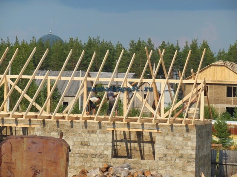 Как поставить крышу дома своими руками 87