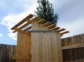 крыша туалета
