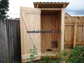 дачный туалет своим руками