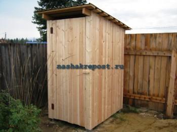 дачный туалет в сборе