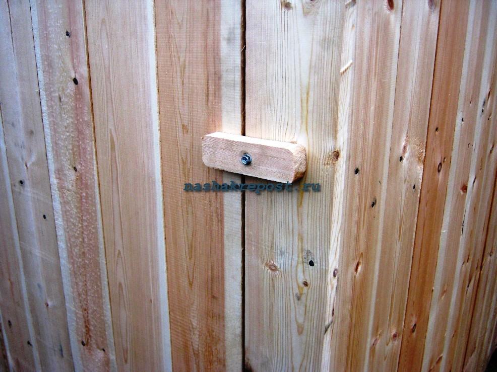 Пружина на двери на даче