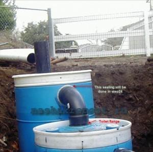 Подключение дачной канализации