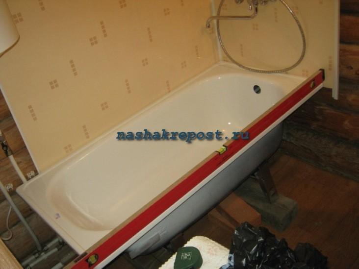 Под ванну сделать из пвх панелей своими руками 80