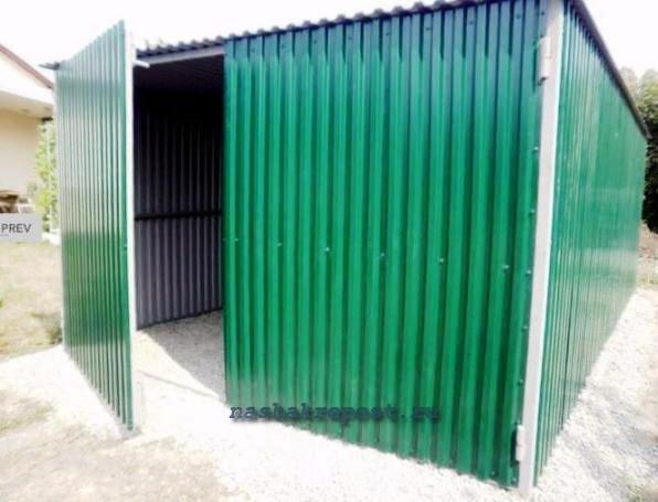 Железные гаражи цена