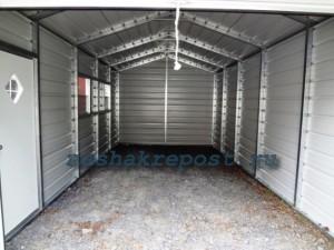 внутреннее строение гаража из профнастила