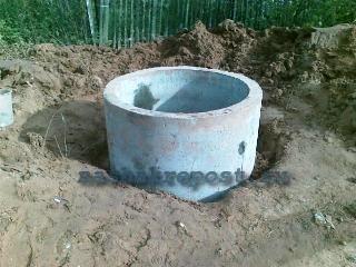 устройство колодца из бетонных колец