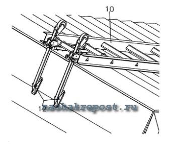 Лестница для крыши своими руками чертежи 362