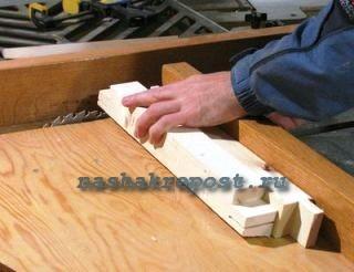 изготовление деталей приставной лестницы