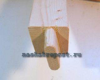 шип для прочного соединения деревянных деталей