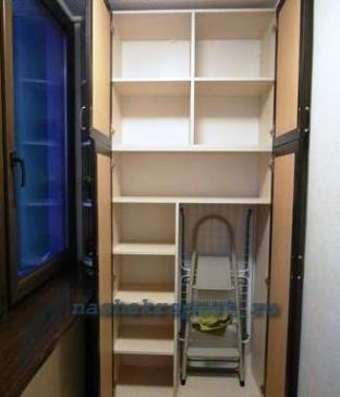 Фото шкафчики для балкона своими руками