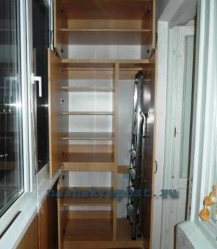 Сделать шкаф своими руками балконе